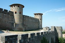 Free Walls Of Carcassonne Royalty Free Stock Images - 21007979