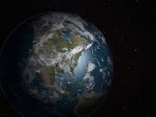 Free Earth Planet America Side Stock Photos - 21007983