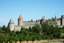 Free View On Carcassonne Royalty Free Stock Photos - 21008068