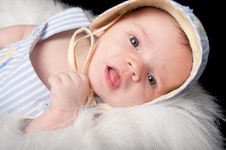 Free Curious Baby Boy Stock Photo - 21008500
