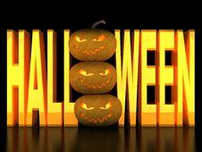 Free Halloween Pumpkin Stock Photo - 21008670