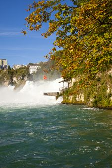 Free Rhine Falls, Switzerland Stock Image - 21008921