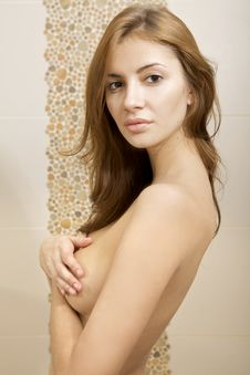 Free Topless Girl Stock Images - 21008984