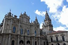 Free Santiago De Compostela Cathedral Royalty Free Stock Images - 21009189