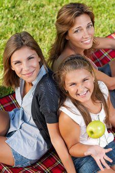 Free Happy Family Royalty Free Stock Photos - 21009958