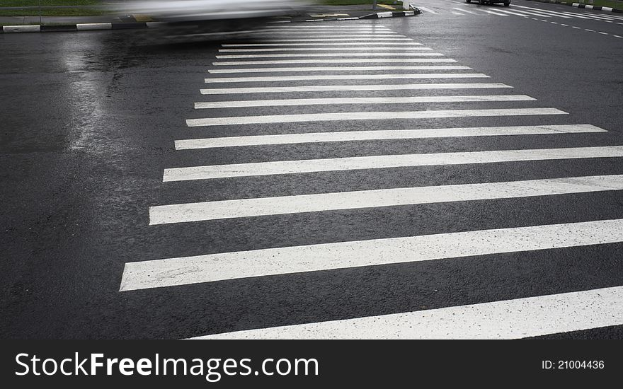 Image of pedestrian crossing