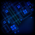 Free Abstract Tech Background Royalty Free Stock Photography - 21017527