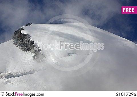 Free Mount Allalinhorn Royalty Free Stock Image - 21017296