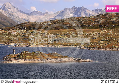 Free Totensee At Grimsel Pass Stock Images - 21017314