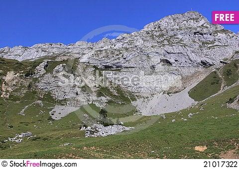 Free Mountain Pilatus Stock Photography - 21017322