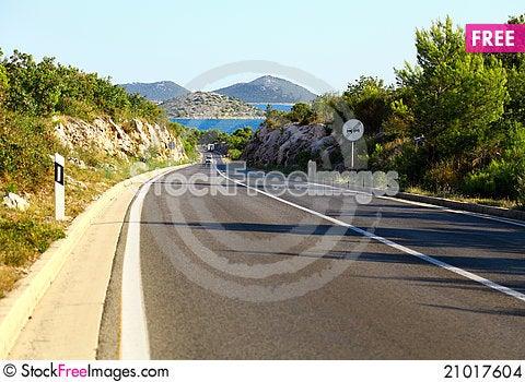 Free Asphalt Road Stock Images - 21017604