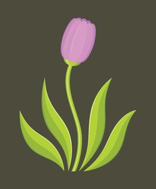 Flower Logo Stock Image