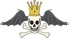 Free Tattoo-style Skull And Crossbones Stock Photo - 21010180