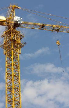 Free Building Crane Stock Photography - 21010872