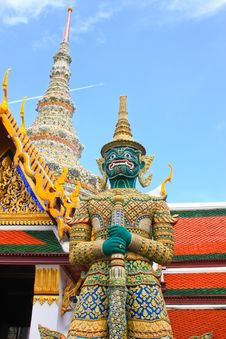 Free Thailand Giant Royalty Free Stock Images - 21010949