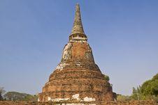 Free Old Pagoda Royalty Free Stock Image - 21011646