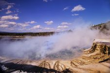 Free Midway Geyser Basin Royalty Free Stock Photo - 21012165