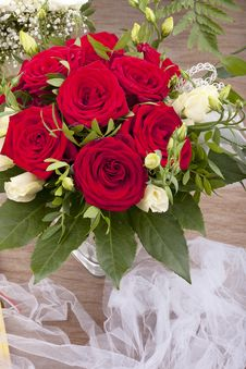 Free Bridal Bouquet Royalty Free Stock Image - 21012376