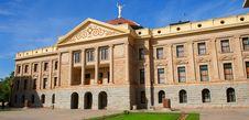 Arizona State Capital With Windows, Pillars Stock Images