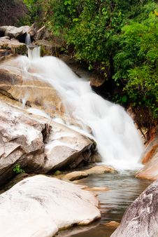 Free Waterfall In Thailand Stock Photos - 21013273