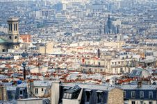 Free Parisian Panorama Stock Image - 21013631