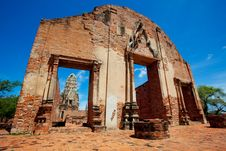 Free Old Temple Of Thailand Royalty Free Stock Photography - 21014867