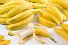 Free Stack Of Bananas Stock Photos - 21014953