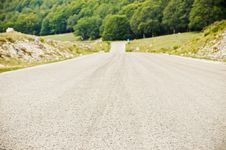 Country Road Through Hills Royalty Free Stock Photo