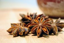 Free Star Anise Stock Image - 21015661