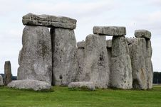 Free At Stonehenge Stock Images - 21015954