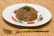 Buckwheat Cereal Stock Photography