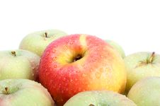 Domination Concepts With Apples Stock Photography