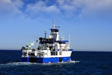 Free Oceanographic Ship Royalty Free Stock Image - 21018496