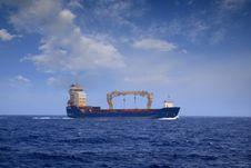 Free Merchant Ship Royalty Free Stock Photo - 21018595