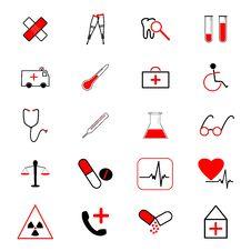 Free Medical Icon Stock Image - 21019911