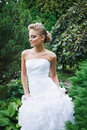 Free Beautiful Bride In White Dress Royalty Free Stock Photography - 21023487