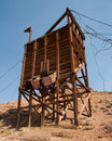 Free Mining Structure, Ore Chute Royalty Free Stock Photography - 21026217