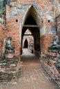 Free Old Thai Temple Royalty Free Stock Image - 21028816