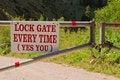 Free Lock Gate Stock Photos - 21028893