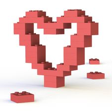 Free Artistic Heart-shape Royalty Free Stock Images - 21020299