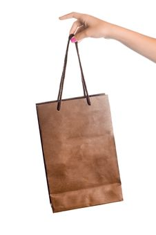 Free Paper Shopping Bag Stock Images - 21020764