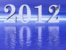 Free 2012 New Year Royalty Free Stock Photo - 21020855