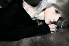 Free Ball-jointed Doll Royalty Free Stock Images - 21022559