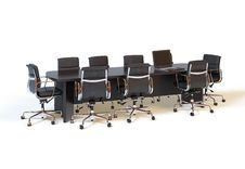 Free Conference Table Royalty Free Stock Photography - 21022887