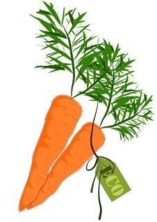 Free Big And Health Orange Carrot - Vector Stock Image - 21023091