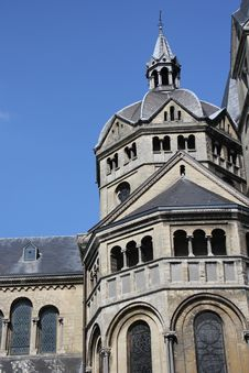 Free Close Up Of Church In Roermond, The Netherlands Royalty Free Stock Photo - 21023355