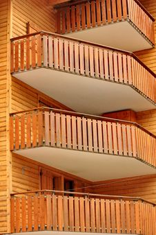 Free Balcony Brown Stock Photography - 21023422