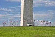 Free Washington Monument Royalty Free Stock Photography - 21023727