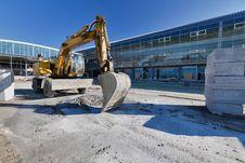 Free Excavator Stock Image - 21024441