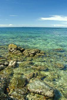 Free Stone On Sea Stock Photos - 21025313
